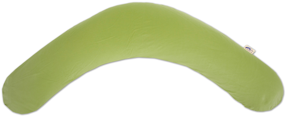 TheraLine Подушка для беременных и кормящих мам Jersey цвет зеленый 190 см -  Подушки для беременных и кормящих