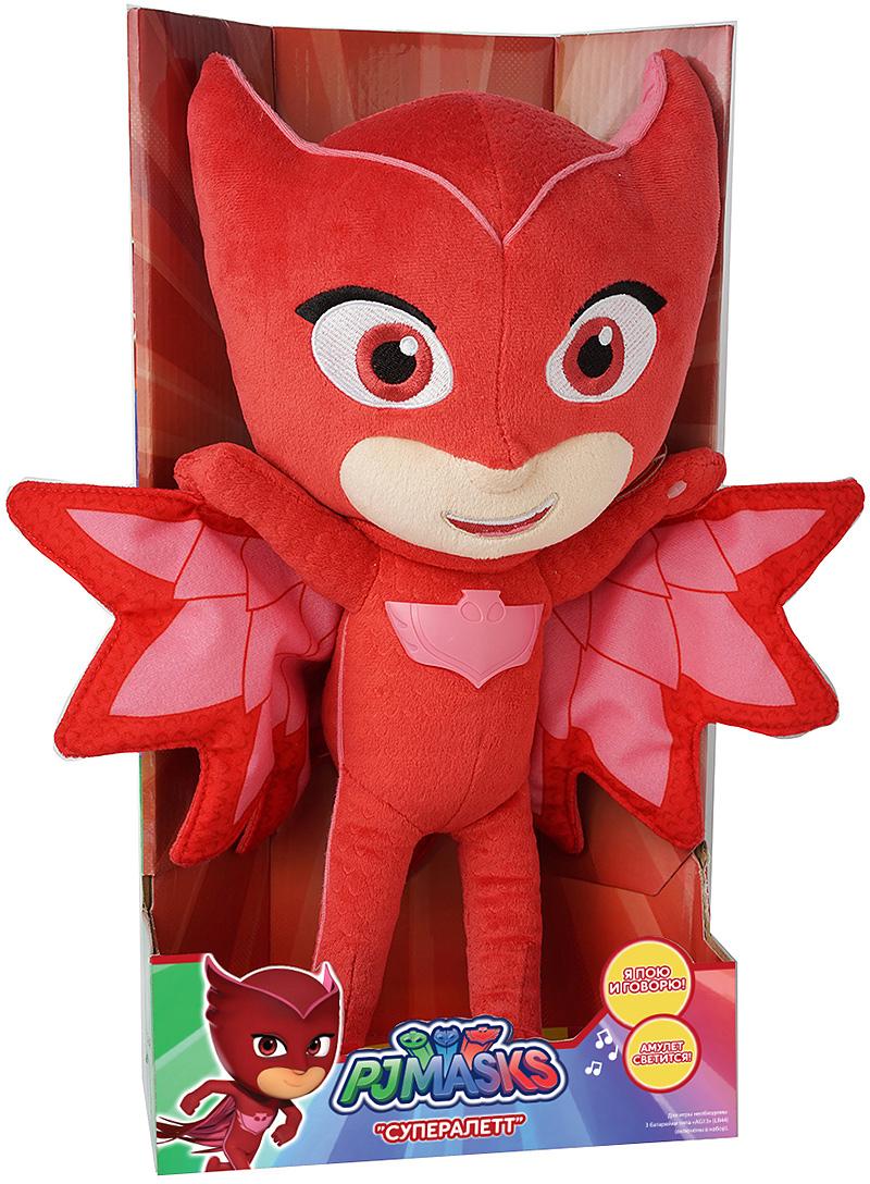 Герои в масках Мягкая озвученная игрушка Алетт 38 см - Мягкие игрушки