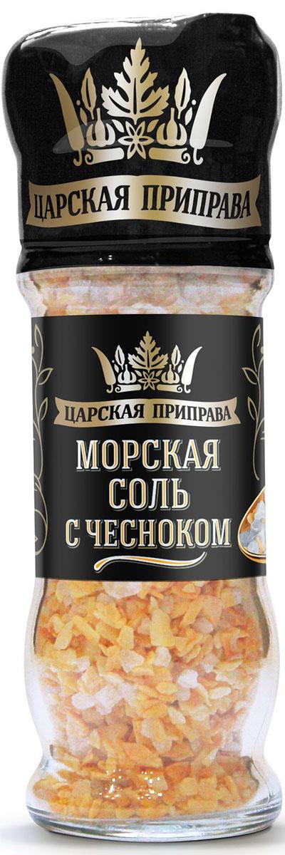 Царская приправа мельница морская соль с чесноком, 65 гAG_TZPR_M07_65_1Использовать для приготовления салатов, закусок, супов, вторых обеденных блюд.Приправы для 7 видов блюд: от мяса до десерта. Статья OZON Гид