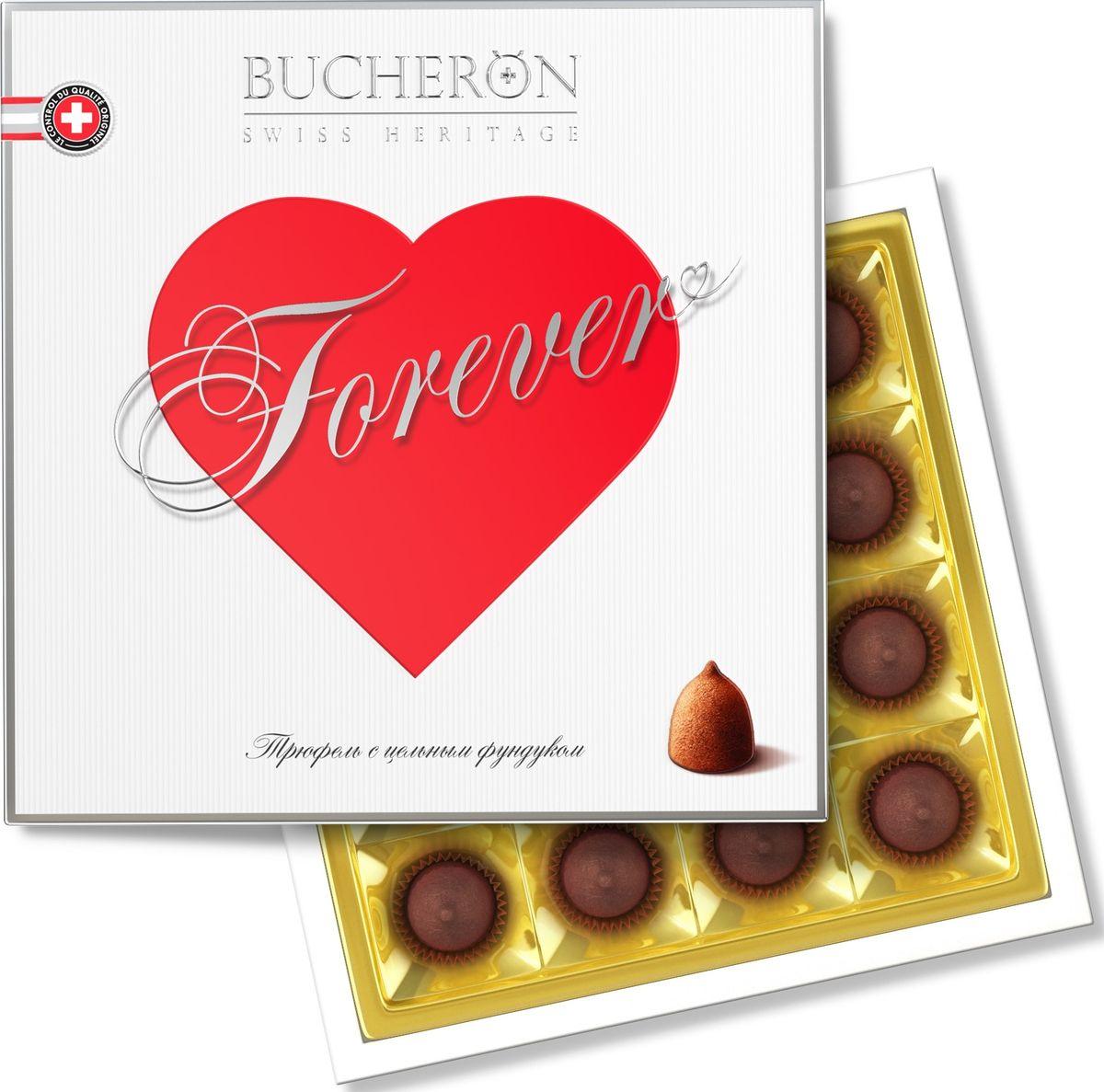 Bucheron трюфель с цельным фундуком, 225 г16.5855Сочетание изысканного шоколада из африканских какао-бобов с цельными ядрами фундука, выросшего в солнечной итальянской провинции Новара.