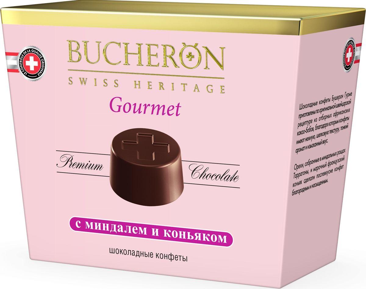 Bucheron Gourmet конфеты с миндалем и коньяком, 175 г sweet doctor конфеты от серых будней 50 гр