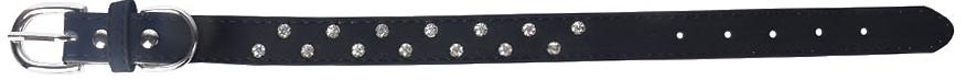 Ошейник для собак GLG, цвет: асфальт, 2 х 37 смAMG0815-13-36