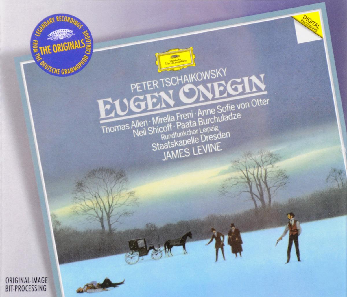 James Levine. Peter Tchaikovsky. Eugene Onegin (2 CD)