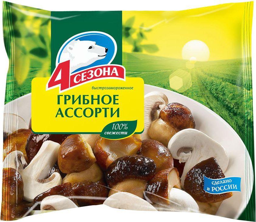 4 Сезона Грибное ассорти, 400 г