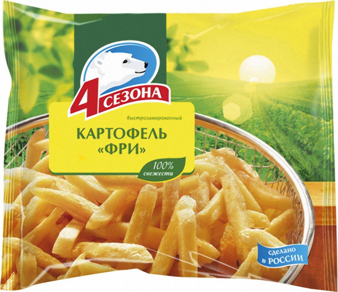 4 Сезона Картофель фри, 900 г