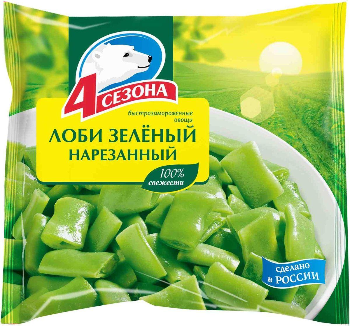 4 Сезона Лоби зеленый нарезанный, 400 г3601095Не размораживать перед приготовлением. Желаемое количество продукта готовить по выбранной рецептуре так же, как и свежие овощи.