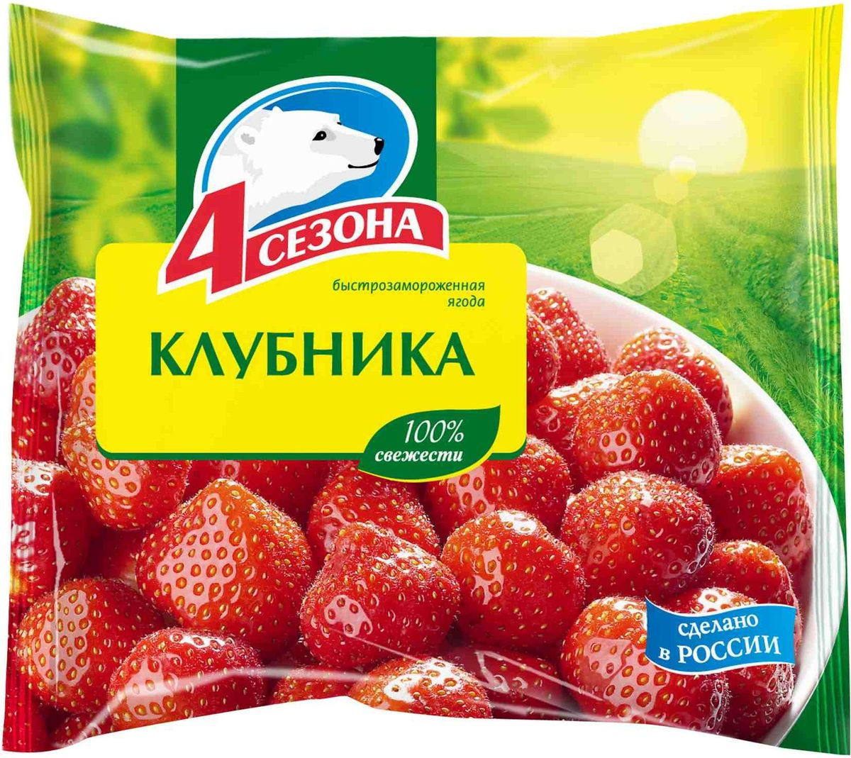 4 Сезона Клубника, 300 г