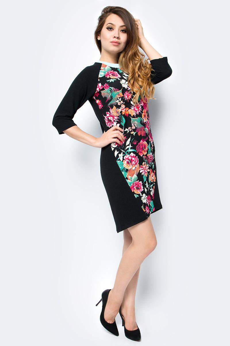 Платье женское La Via Estelar, цвет: фуксия. 12009-1. Размер 4812009-1