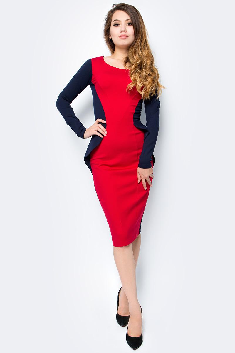 Платье женское La Via Estelar, цвет: синий. 14673-1. Размер 5014673-1