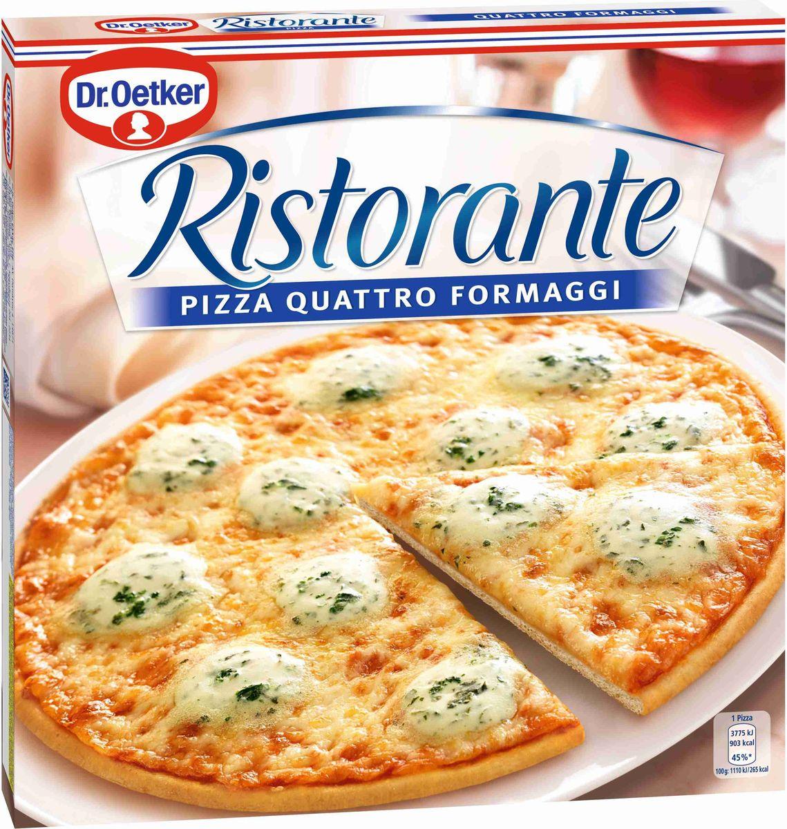 где купить  Dr.Oetker Пицца Ristorante 4 Сыра, 340 г  по лучшей цене