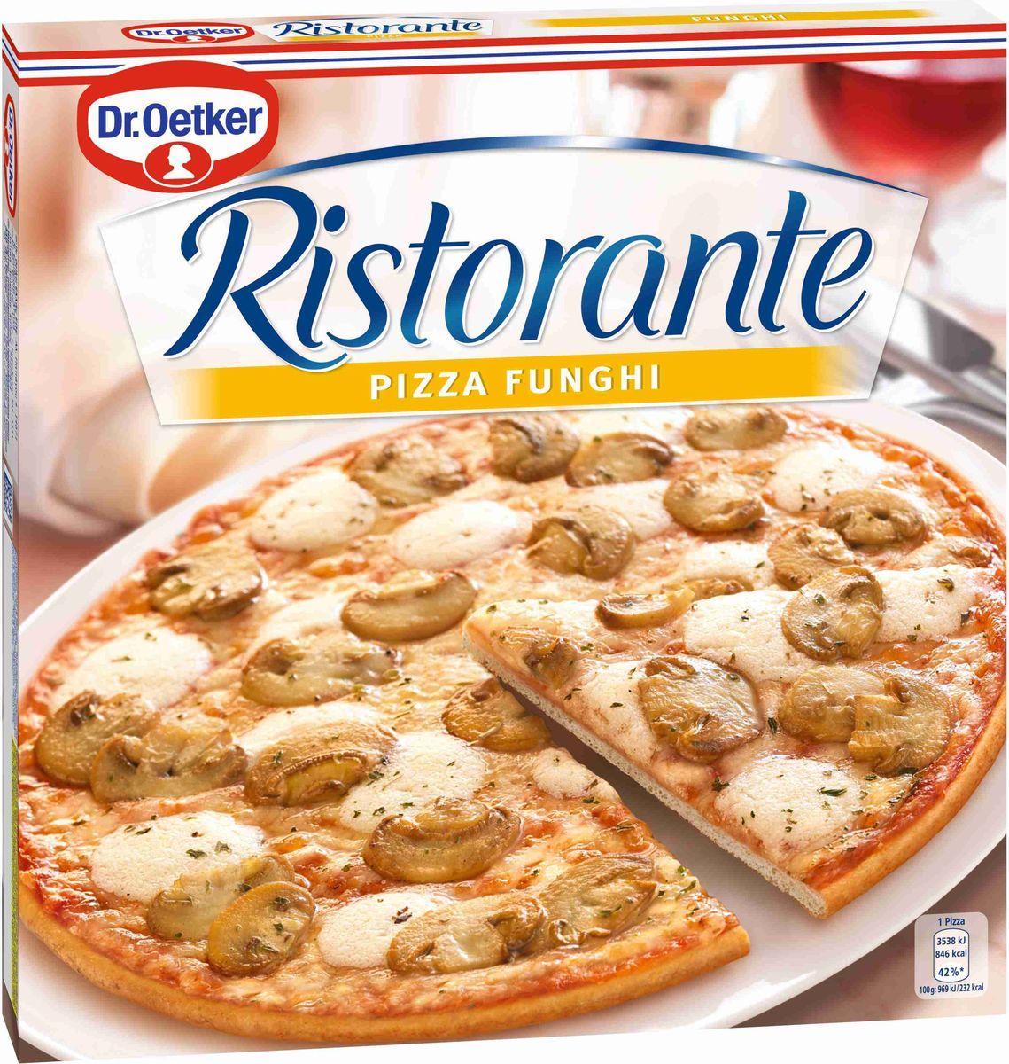 где купить  Dr.Oetker Пицца Ristorante Шампиньоны, 365 г  по лучшей цене
