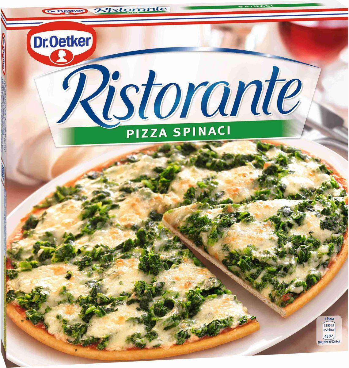 где купить  Dr.Oetker Пицца Ristorante Шпинат, 390 г  по лучшей цене
