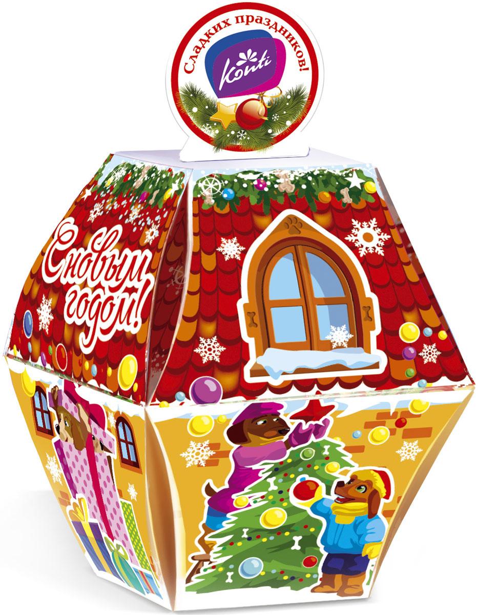 Konti Елочная новогодний подарок, 130 г4600495541147Новогодний подарок