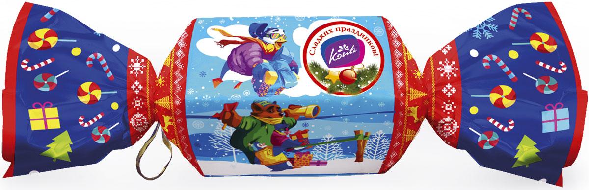 Konti Конфеткино новогодний подарок, 450 г4600495541321Новогодний подарок