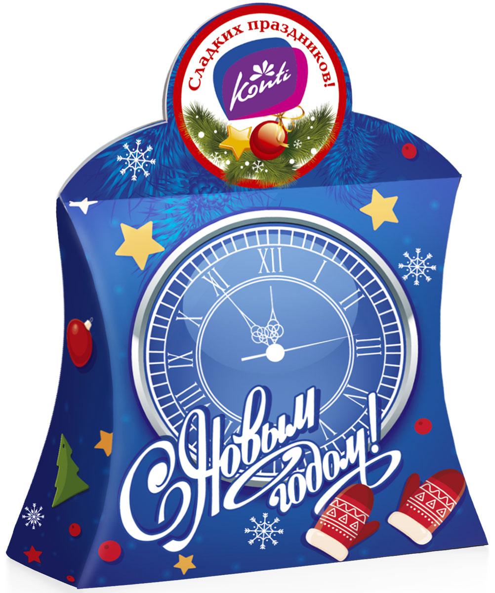 Konti Верность традициям новогодний подарок, 450 г4600495541345Набор кондитерских изделий – новогодний подарок Верность традициям.