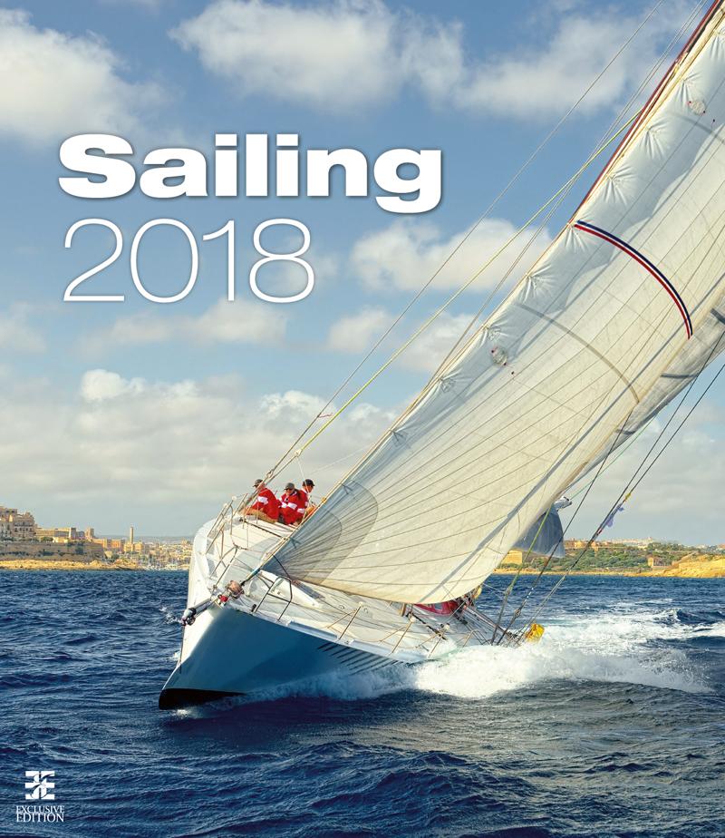 Календарь 2018 (на спирали). Sailing printio перекидной календарь а3