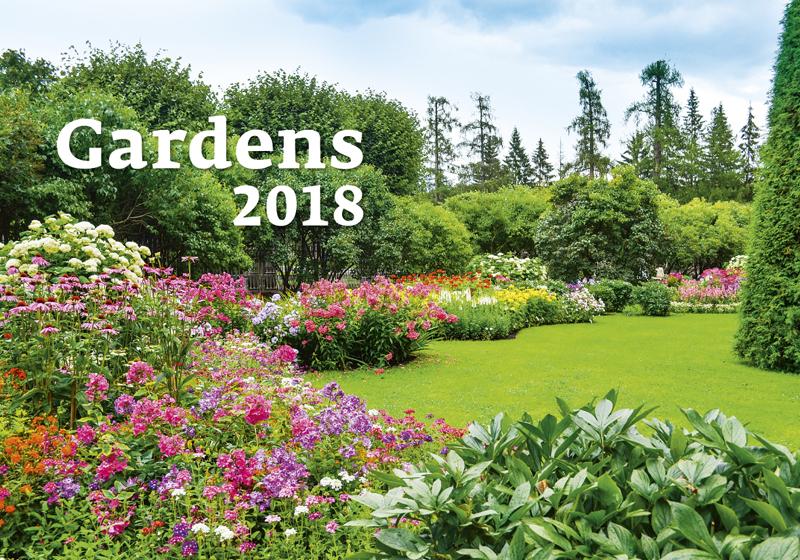 Календарь 2018 (на спирали). Gardens