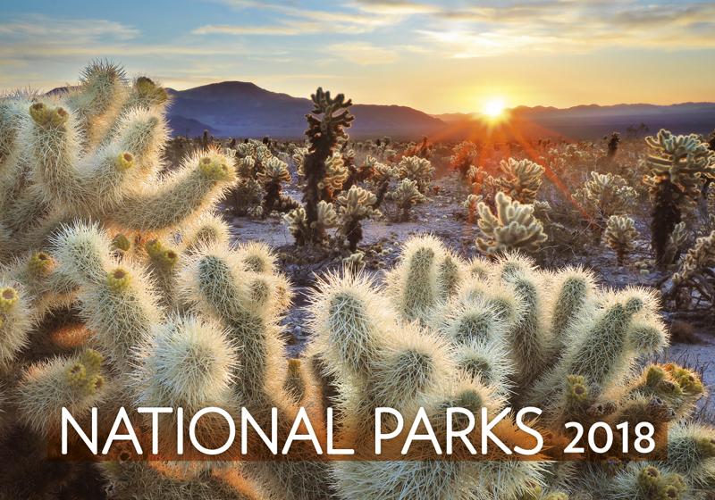 Календарь 2018 (на спирали). National Parks printio перекидной календарь а3