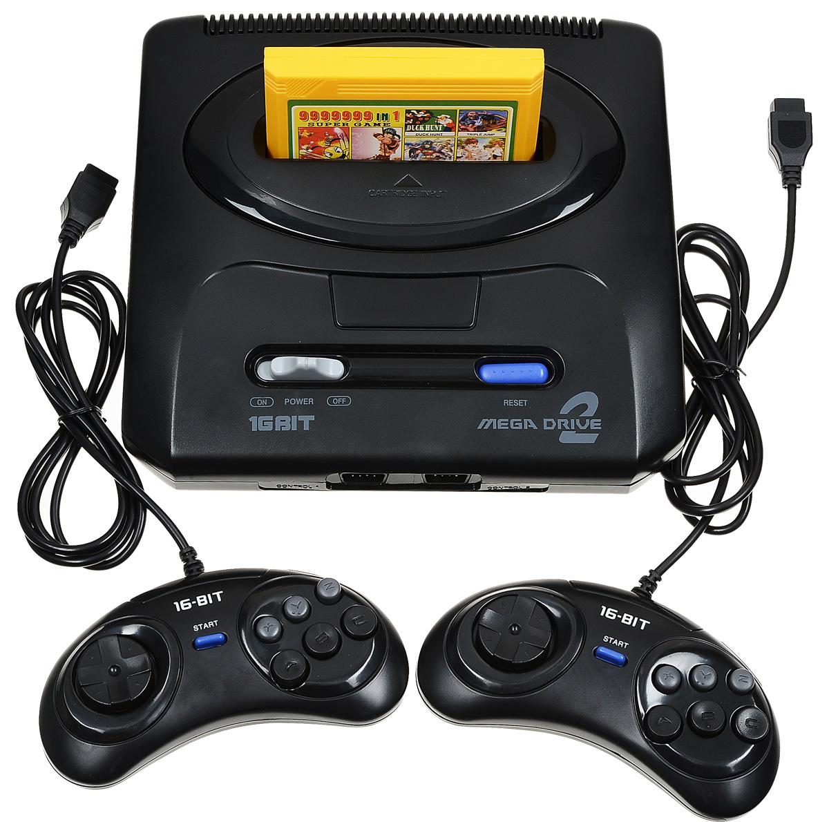 Sega MegaDrive 2 игровая приставка - Игровые консоли