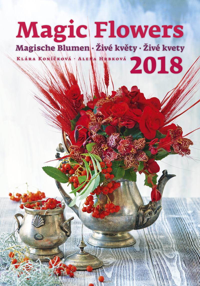 Календарь 2018 (на спирали). Magic Flowers