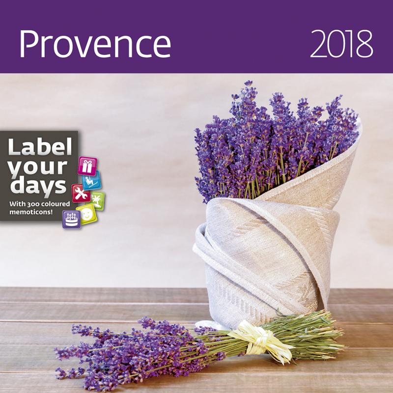 Календарь 2018 (на спирали). Provence (+ наклейки) альфонс муха календарь настенный на 2018 год эксмо