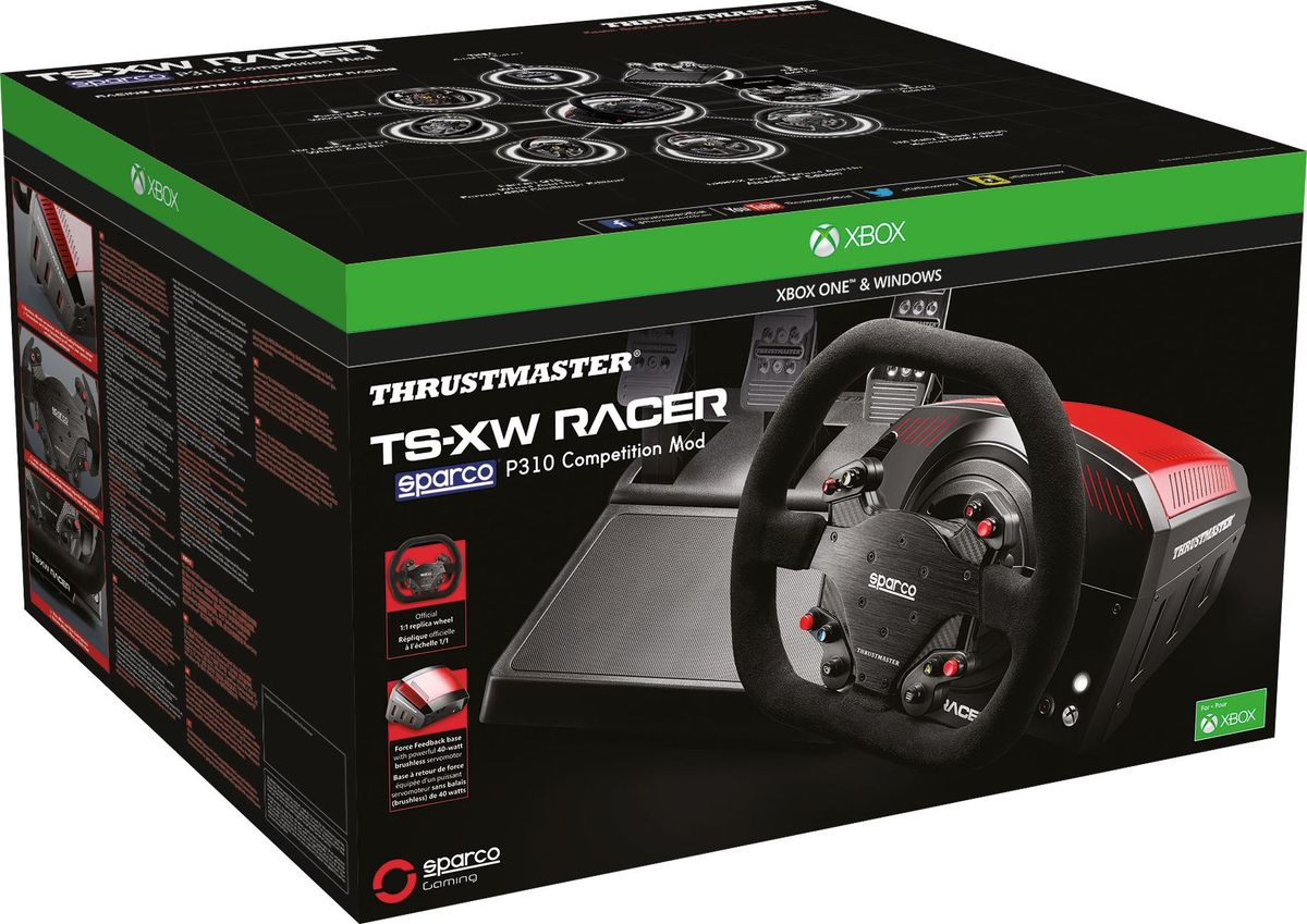 Thrustmaster TS-XW Racer SPARCO P310 Competition Modруль для Xbox One/PC Thrustmaster