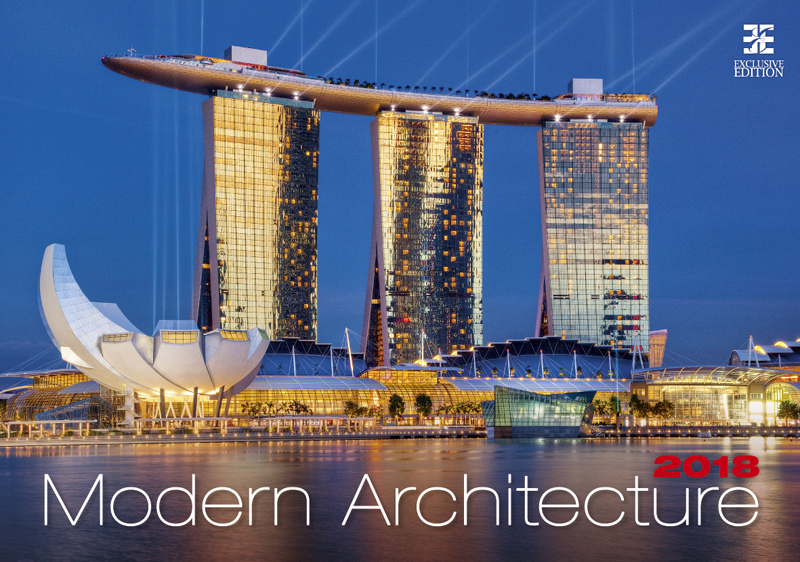 Календарь 2018 (на спирали). Modern Architecture printio перекидной календарь а3
