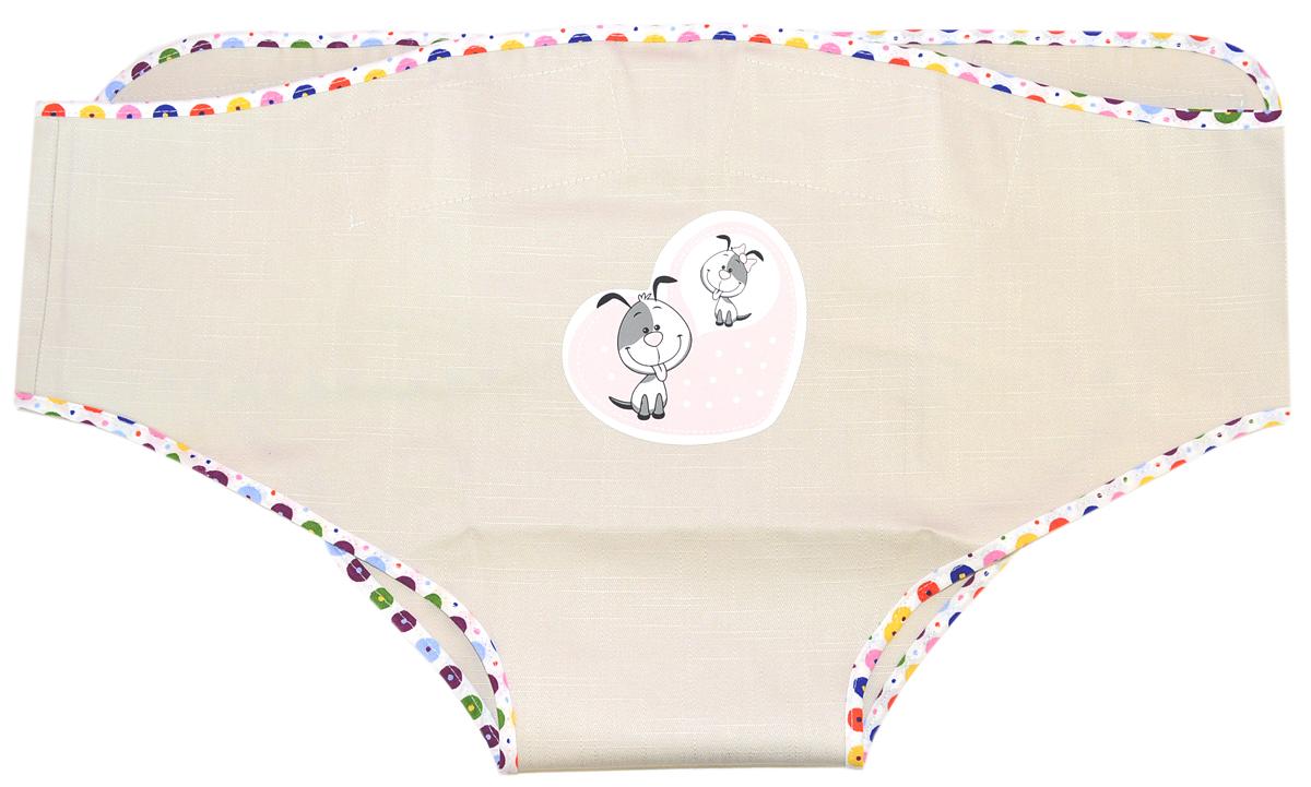 Споки Ноки Пояс-фиксатор страховочный детский цвет бежевый споки ноки борт в кроватку с органайзером облака цвет голубой