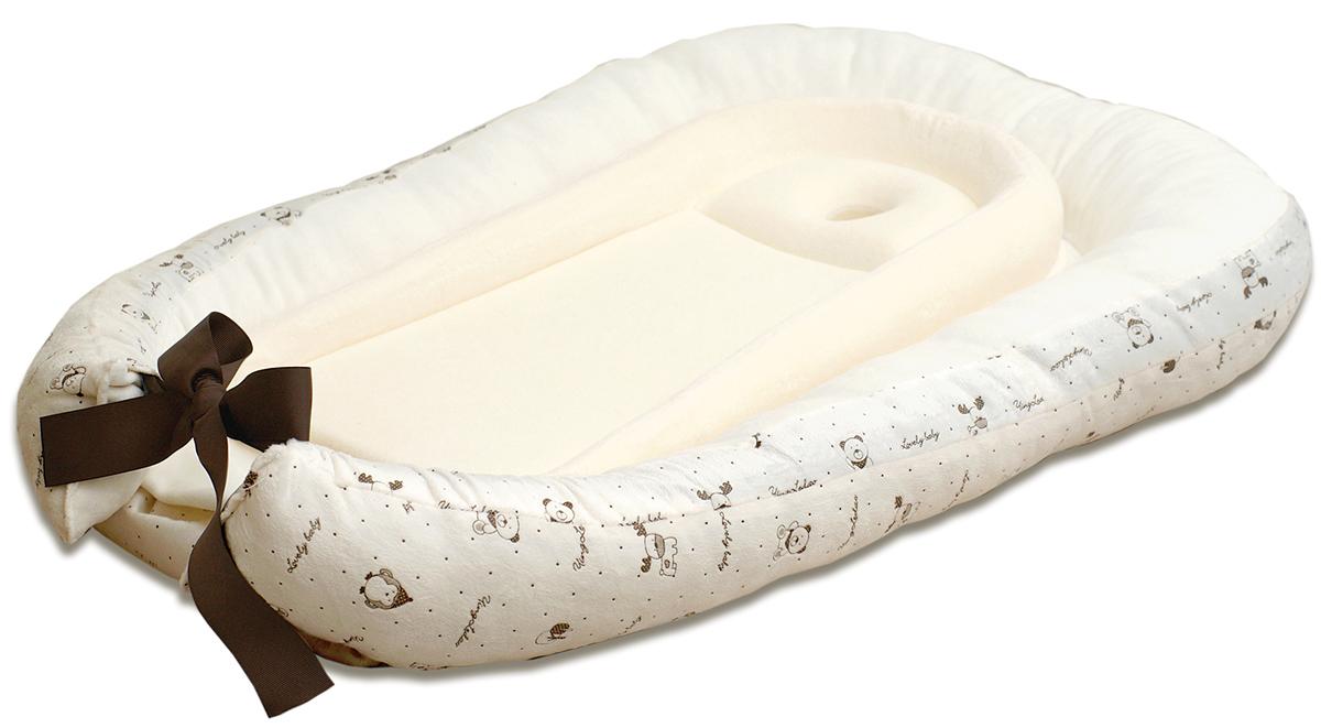 Baby Nice Матрас-кокон для сна Сладкий сон цвет бежевый -  Позиционеры, матрасы для пеленания