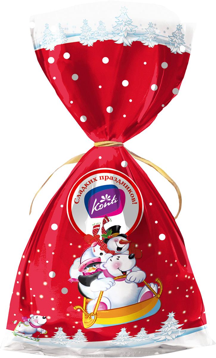 Konti Дин-Дон новогодний подарок, 200 г4600495541208Новогодний подарок