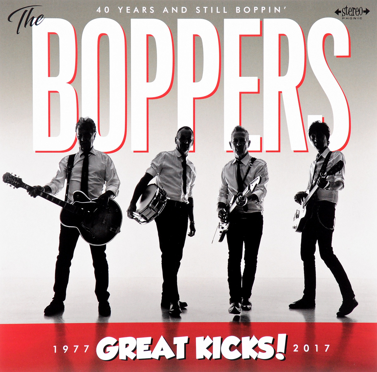 The Boppers The Boppers. Great Kicks! 1977-2017 (LP)