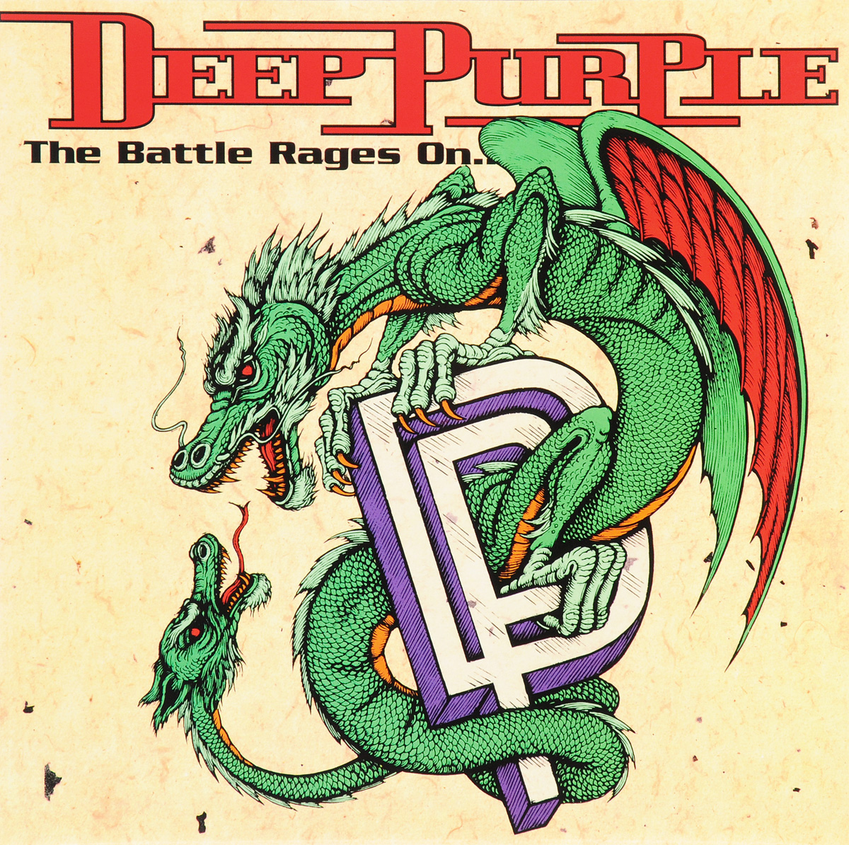 Deep Purple Deep Purple. The Battle Rages On... (LP)
