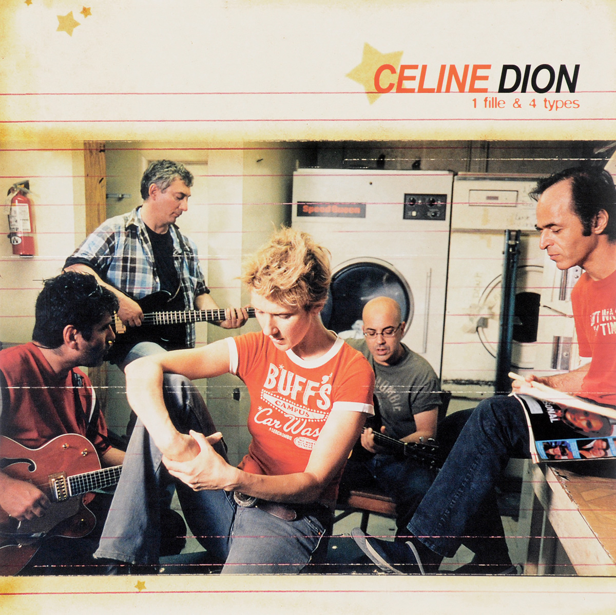 Селин Дион Celine Dion. 1 Fille & 4 Types (LP) селин дион celine dion all the way a decade of song