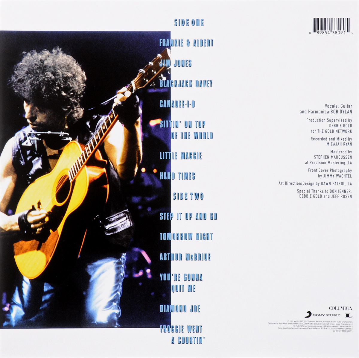 Bob Dylan.  Good As I Have Been To You (LP) Warner Music,Columbia Records