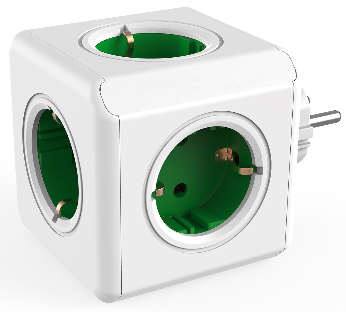 Allocacoc Original, Green сетевой разветвитель