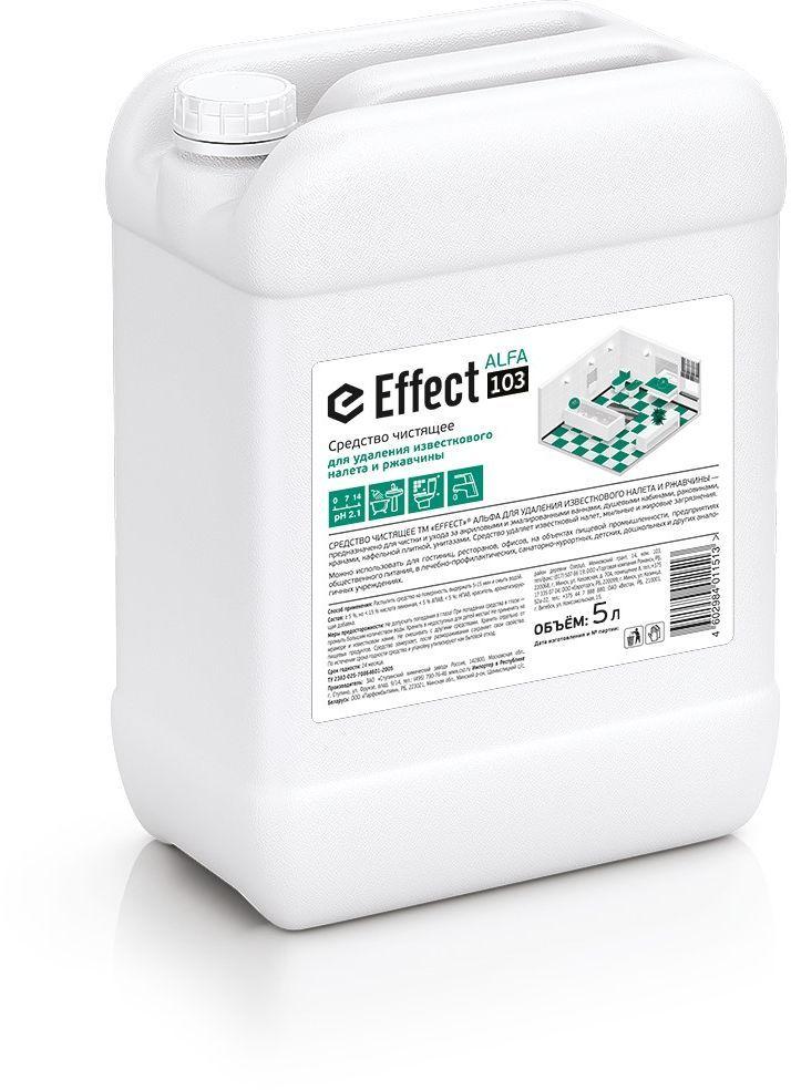 Средство чистящее для сантехники  Effect , щадящее, генеральная уборка, 5 л - Бытовая химия
