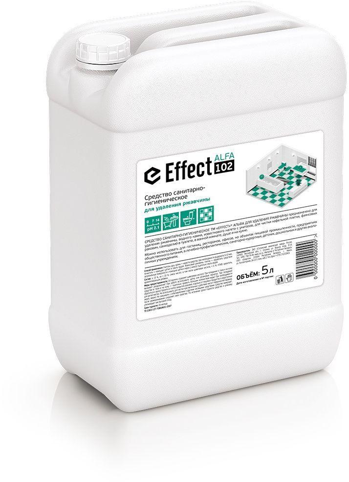 Средство санитарно-гигиеническое для удаления ржавчины  Effect , 5 л - Бытовая химия