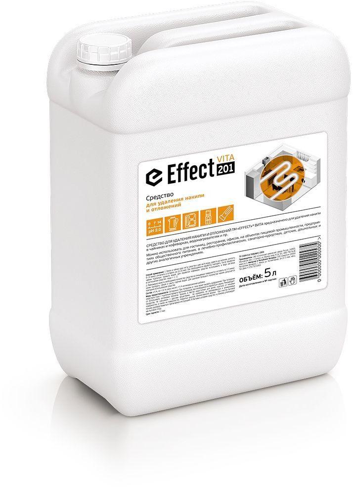 Средство для удаления накипи и отложений Effect, 5 л чистящее средство для кофемашины siemens таблетки для удаления накипи tz80002