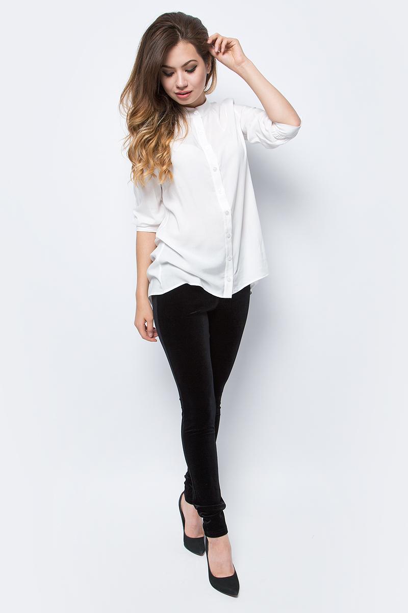 Брюки женские La Via Estelar, цвет: черный. 60570-1. Размер 4460570-1Стильные женские брюки La Via Estelar - брюки высочайшего качества, которые прекрасно сидят. Модель изготовлена из эластичного полиэстера с бархатной фактурой. Брюки на мягком эластичном поясе стандартной посадки. Эти модные и в тоже время комфортные брюки послужат отличным дополнением к вашему гардеробу. В них вы всегда будете чувствовать себя уютно и комфортно.