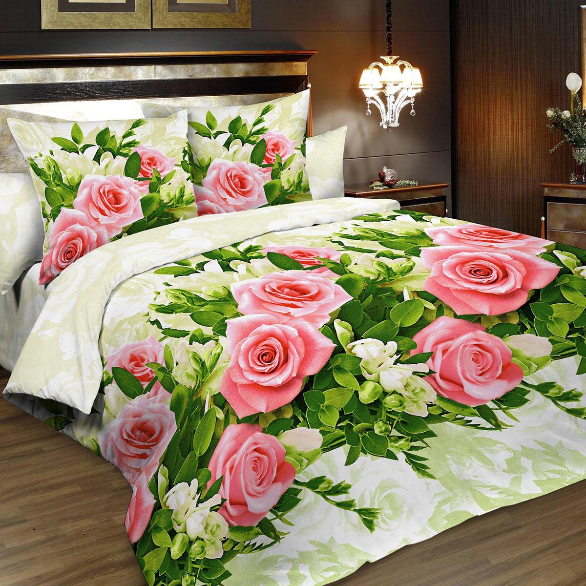 Комплект белья Letto Традиция, 2-спальный, наволочки 70x70, цвет: розовый. B195-4B195-4Комплект белья Letto Традиция, выполненный из бязи (100% хлопка), состоит из пододеяльника, простыни и двух наволочек. Бязь - хлопчатобумажная ткань полотняного переплетения без искусственных добавок. Большое количество нитей делает эту ткань более плотной, более долговечной. Высокая плотность ткани позволяет сохранить форму изделия, его первоначальные размеры и первозданный рисунок. Приобретая комплект постельного белья Letto Традиция, вы можете быть уверенны в том, что покупка доставит вам и вашим близким удовольствие и подарит максимальный комфорт.