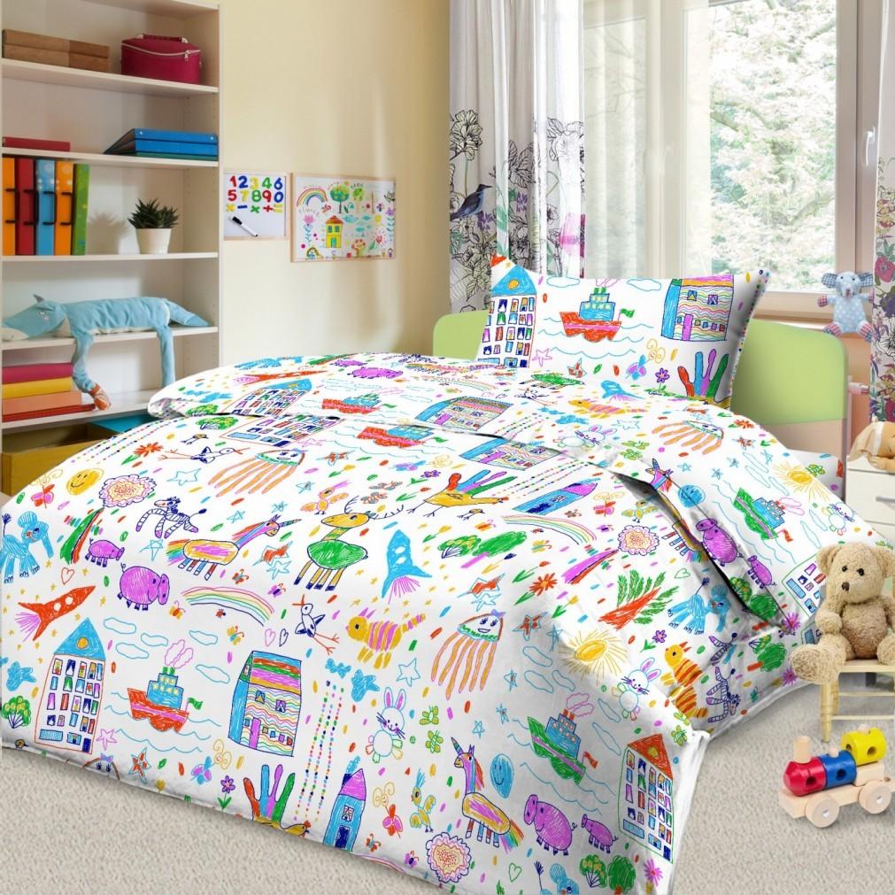 Letto Комплект в кроватку Ясли 3 предмета BG-38 -  Постельное белье