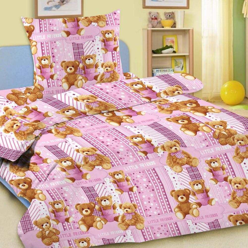Letto Комплект в кроватку Ясли с простыней на резинке BGR-06 -  Постельное белье