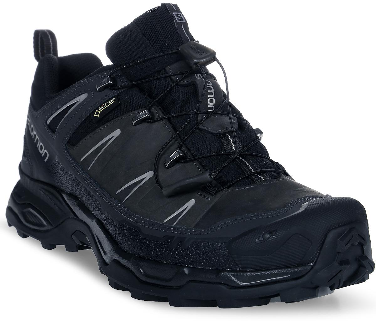 Купить Кроссовки мужские трекинговые Salomon X Ultra LTR GTX, цвет: черный, темно-серый. L36902400. Размер 11 (44, 5)