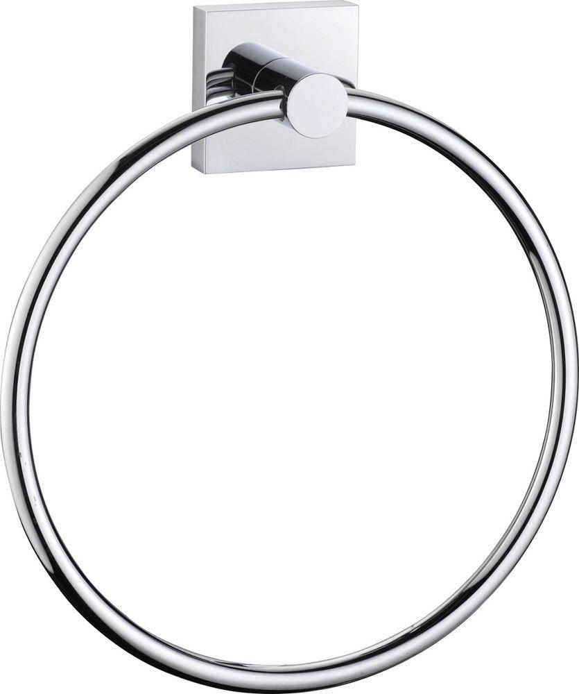Полотенцедержатель кольцо Milardo Amur держатель для туалетной бумаги milardo amur хром amusmc0m43