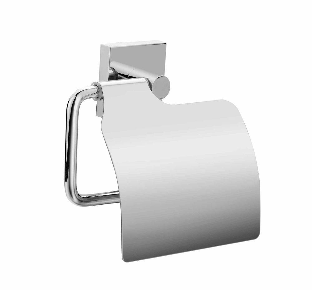 Держатель для туалетной бумаги Milardo AmurAMUSMC0M43Держатель туалетной бумаги Amur выполнен из прочного сплава металлов и имеет стойкое никель-хромовое покрытие. Крепеж в комплекте.