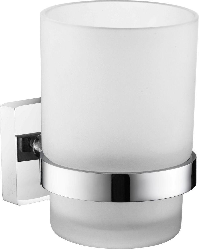 Стакан для зубных щеток Milardo Amur держатель для туалетной бумаги milardo amur хром amusmc0m43