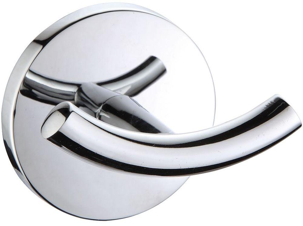 Крючок двойной Milardo CadissCADSM20M41Крючок выполнен из прочного сплава металлов, имеет стойкое никель-хромовое покрытие. В комплекте удобное и надежное крепление.