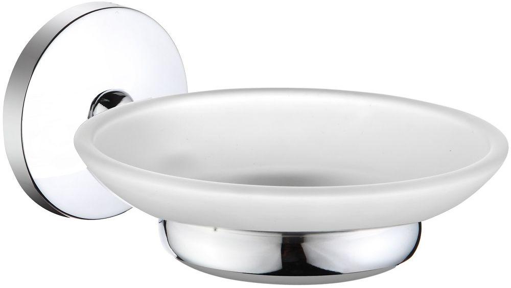 Мыльница настенная Milardo CadissCADSMG0M42Мыльница настенная Milardo Cadiss благодаря своему оригинальному дизайну станет стильным аксессуаром, который украсит интерьер вашей ванной комнаты. Держатель мыльницы Cadiss выполнен из прочного сплава металлов, имеет стойкое никель-хромовое покрытие, уплотнительная прокладка надежно фиксирует мыльницу в держателе. В комплекте удобный и надежный крепеж.
