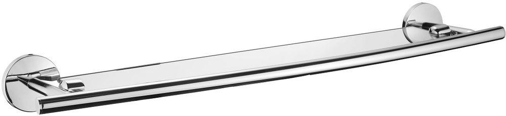 Полка для ванной комнаты Milardo Cadiss, стекляннаяCADSMG0M44Полка Milardo Cadiss выполнена из прочного сплава металлов со стойким никель-хромовым покрытием и закаленного стекла, устойчивого к нагрузке и повреждениям. Она пригодится для хранения различных принадлежностей, которые всегда будут под рукой. Благодаря компактным размерам полка впишется в интерьер ванной комнаты и позволит удобно и практично хранить предметы личной гигиены.