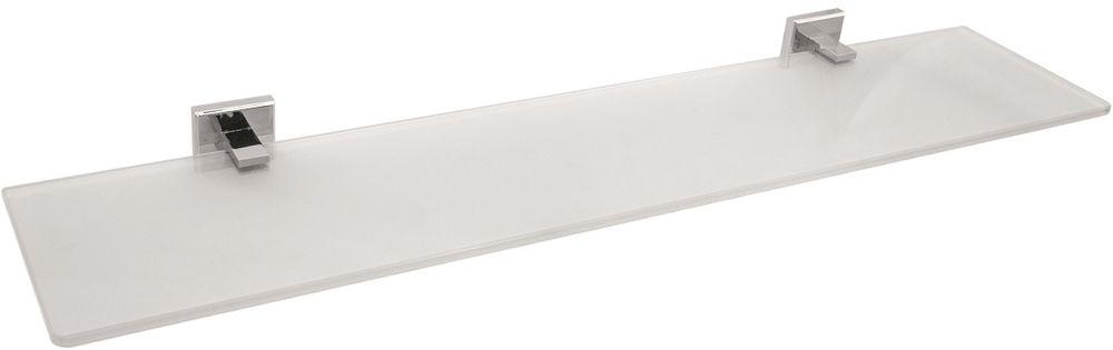 Полка для ванной комнаты Milardo Labrador, стекляннаяLABSMG0M44Полка Labrador выполнена из прочного сплава металлов со стойким никель-хромовым покрытием и закаленного стекла, устойчивого к нагрузке и повреждениям.